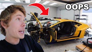 the 1000HP Lamborghini is ruined...