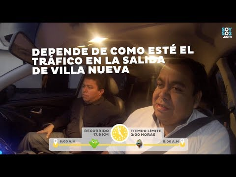 #VivirEnElTráfico Desde Villa Nueva por Aguilar Batres