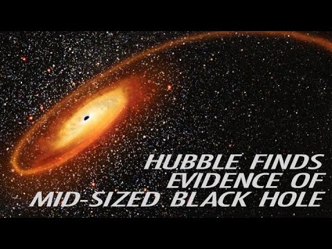Hubble Finds Evidence of Mid-Sized Black Hole