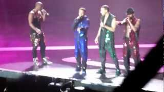 JLS - Thats My Girl - live Sheffield 28 march 2012 - HD