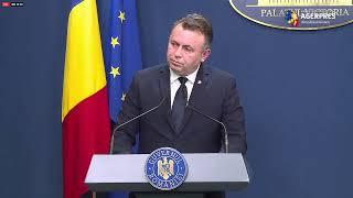 Declarație de presă susținută de ministrul Sănătății, Nelu Tătaru