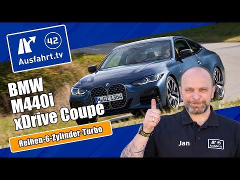 2021 BMW M440i xDrive Coupé Steptronic (G22) - Kaufberatung, Test deutsch, Review, Fahrbericht