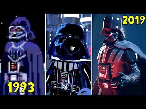 DARTH VADER Entrance Scene in Star Wars Games 1993-2019 - Star Wars Jedi: Fallen Order