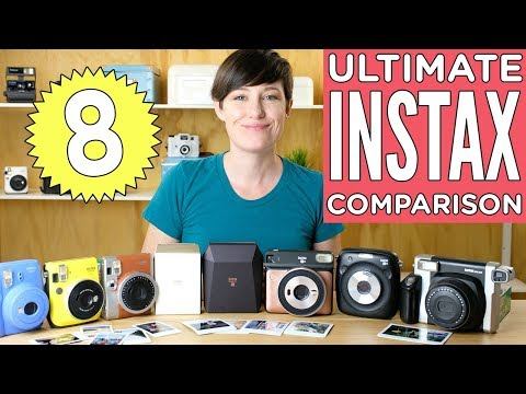 The Ultimate Fuji Instax Camera Comparison 2018