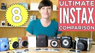 The Ultimate Fuji Instax Camera Comparison 2018