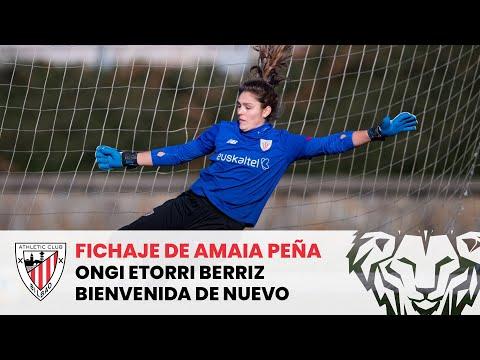 ✍️💥 Fichaje de Amaia Peña hasta 2022