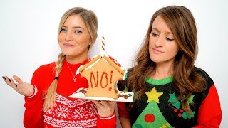 Worst Gingerbread House Decorating EVER!