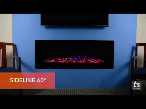 Touchstone Sideline 50, 60, and 72 Electric Fireplaces