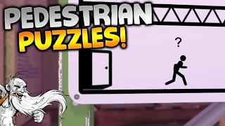 """The Pedestrian Gameplay - """"WHAT A CLEVER PUZZLE GAME!!!"""" Walkthrough Let"""