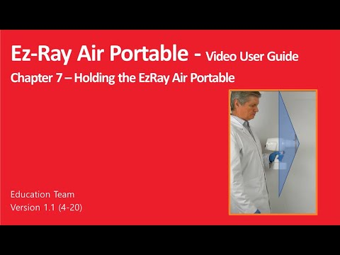 Chapter 7 - Holding the EzRay Air Portable
