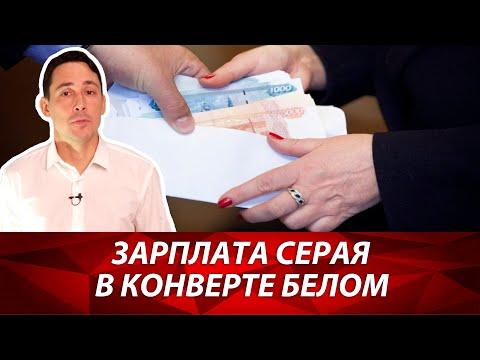 Серая зарплата и зарплата в конвертах. Неофициальная зарплата. Как налоговая инспекция тебя найдет?