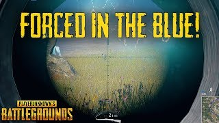 Forcing Them In The Blue! - PUBG