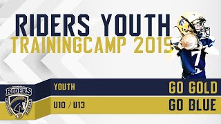 Riders Youth Football TrainingCamp 2019