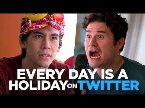 Na Twitteru je svátek každý den