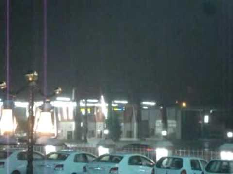 أمطار الخير والبركة التي هطلت على مكة المكرمة مساء هذا اليوم