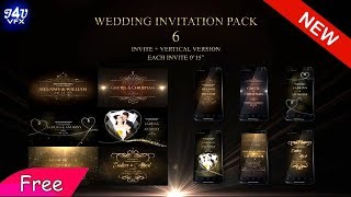 Indian Wedding Invitation After Effects Template Free Download