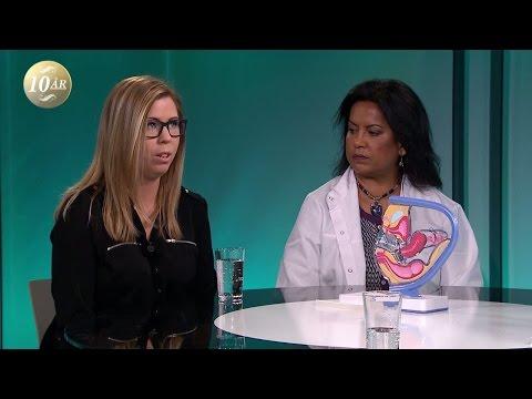 Sprack från slidan till ändtarmen vid förlossningen - Malou Efter tio (TV4)