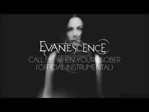 Evanescence - Call Me When You're Sober (Official Instrumental)