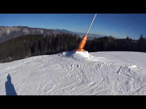 Skifahren am Dreiländereck
