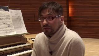 Francesco Filidei à l'orgue - Entretien et répétitions pour Présences 2017
