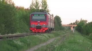 Летний пригородный поезд №6561 Луга – Псков