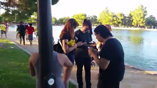Pokemon Go Las Vegas Sunset Park People catch and greet