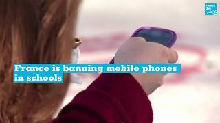 Macron to ban phones in French schools
