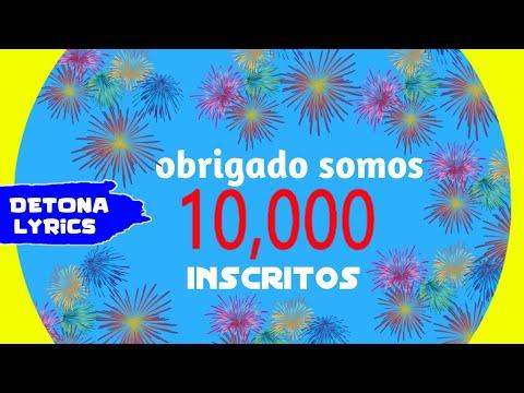 Especial 10 Mil Inscritos - Obrigado Meu deus 🙏🙏