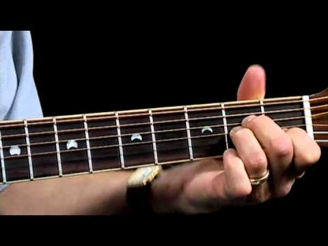 How to Play A Minor Chord - Acoustic Guitar Lessons for Beginners - Jump Start