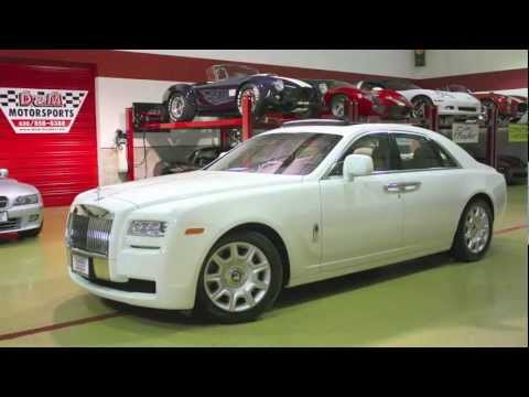 Rolls-Royce Ghost-English White-D&M Motorsports Video Test Drive 2012 Chris Moran