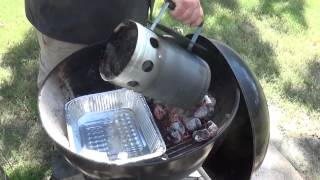 How To Set Up A Charcoal Grill For Smoking   Smoke Meat with your Weber Kettle