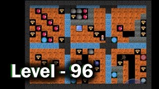 Diamond mine level 96 collected all 30 diamonds