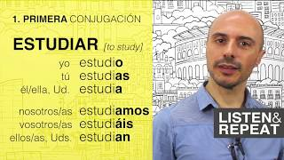 Learn Spanish: (15) The verbs ending with -AR (Present Tense)