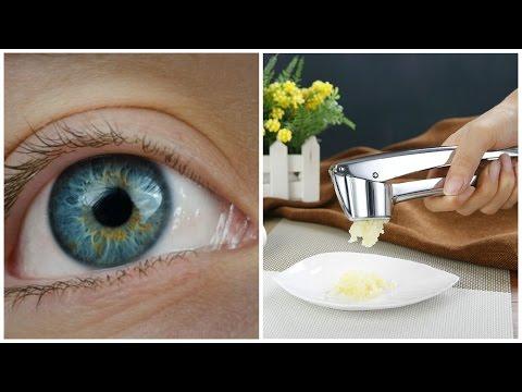 Como Usar El Ajo Prensado Para Revertir La Pérdida De La Visión | Mejor Salud