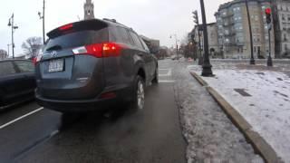 bike to work - Brookline to Boston