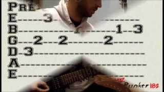 Angels And Airwaves - Bullets In The Wind (Guitar Lesson With Tabs)