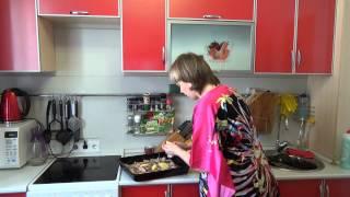 7. Свиные ребрышки с картошкой. Pork ribs with potatoes