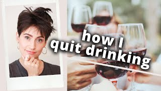 How I Quit Drinking Alcohol and Smoking