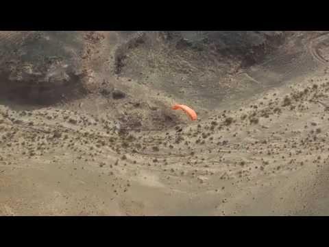 מסע אווירי מעל מכתש רמון