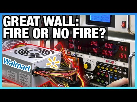 Walmart Great Wall Power Supply Test – Overpowered DTW PSU