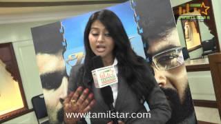 Varsha Ashwathi at Athithi Movie Team Interview