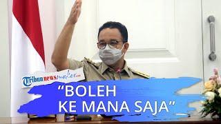 Anies Izinkan Warga yang Sudah Divaksin Lolos Penyekatan dan Bisa ke Mana Saja, Wiku: Tapi Ingat 3M