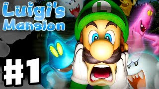 Luigi's Mansion - 3DS Gameplay Walkthrough Part 1 - Area 1 - Chauncey (Nintendo 3DS)