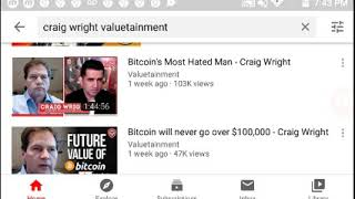 Craig Wright Is Satoshi/ Hex is BTC Part 1