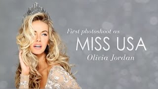 Olivia Jordan Miss USA 2015 Official Fadil Berisha Photoshoot