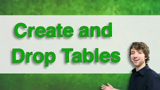 Db2 SQL Tutorial 4 - Create and Drop Tables