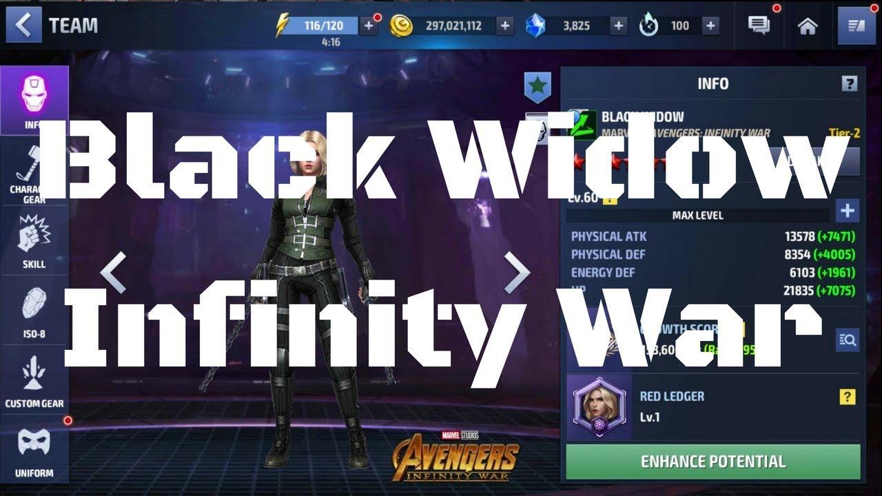 รีวิว Black Widow ยู Infinity War