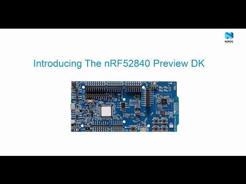 Nordic Semiconductor NRF52840-DK Radio Frequency Development