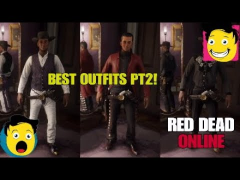 TOP 10 Custom Outfits You Can Wear In Red Dead Redemption 2