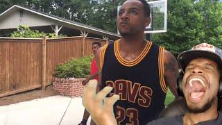 IM CRYING!! @BdotAdot5 NBA IMPRESSIONS COMPILATION REACTION